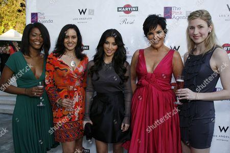 Kim Kardashian West, Kris Kardashian, Marisa Renee Lee