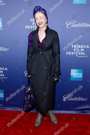 """Beatrix Ost attends the premiere of """"In God We Trust"""" during the 2013 Tribeca Film Festival at the SVA Theatre on in New York"""