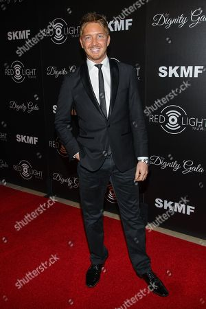 Actor Jacob Diamond arrives at the Inaugural Dignity Gala at the Beverly Hilton Hotel on in Beverly Hills, Calif