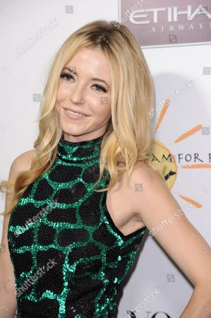 Stock Picture of Madison Walls arrives at the inaugural Dream for Future Africa Foundation Gala at Spago on in Beverly Hills, Calif