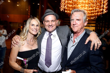 """Lisa O'Malley, Mike O'Malley and Jamey Sheridan seen at the Los Angeles Industry Screening of Warner Bros. Pictures and Village Roadshow Pictures """"Sully"""" at The DGA Theater, in Los Angeles"""