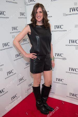 "Stock Photo of IWC Filmmaker Award Winner Deb Shoval attends IWC Schaffhausen's ""For the Love of Cinema"" Tribeca Film Festival gala dinner at Spring Street Studios, in New York"