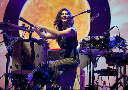 Editorial photo of Jason Mraz with Raining Jane in Concert - , Atlanta, USA - 9 Sep 2014