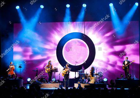 Editorial image of Jason Mraz with Raining Jane in Concert - , Atlanta, USA - 9 Sep 2014