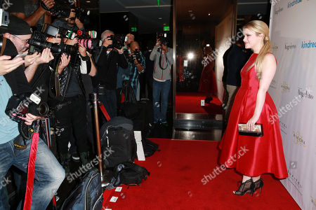 """Taylor Spreitler attends the Kindred Foundation's """"Family Has No Boundary"""" Benefit held at Riviera 31 at Sofitel Hotel, in Los Angeles"""