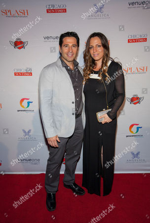 Stock Image of Frank Fontana and Sherry Fontana seen here at Jenny McCarthy's 7th Annual Rescue Our Angels fundraiser for Generation Rescue at VenueOne on in Chicago