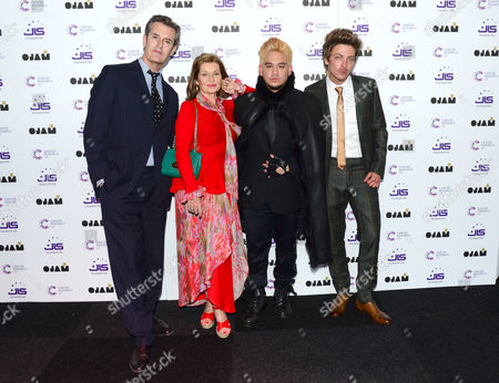 Stock Picture of Rupert Everett, Stephanie Beacham, Prince Haji 'Abdul 'Azim of Brunei and Tyler James attend the JLS Foundation OJAM in aid of Cancer Research UK at Battersea Evolution in London on June 6th, 2013