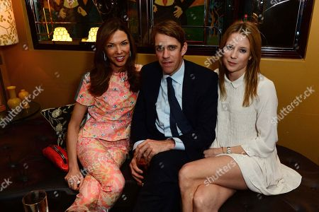 Heather Kerzner, XXX and Tilly Wood seen at Johnnie Walker Blue Label Dinner at China Tang, The Dorchester on Wednesday, May, 15, 3013 in London