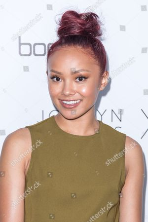 Ysa Penarejo arrives at the Jordyn Woods x boohoo.com Launch Event at the Neuehouse Hollywood, in Los Angeles