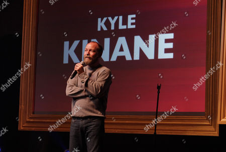 """Stock Image of Kyle Kinane performs at the """"Just For Laughs Comedy Festival"""" on at The Vic Theatre in Chicago"""