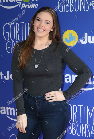 Miranda May attends Just Jared Jr.'s Fall Fun Day celebrating Season 2 of Amazon Prime's 'Gortimer Gibbon's Life on Normal Street', in Los Angeles