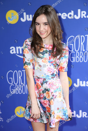 """Aubrey Miller attends Just Jared Jr.'s Fall Fun Day celebrating Season 2 of Amazon Prime's """"Gortimer Gibbon's Life on Normal Street"""", in Los Angeles"""