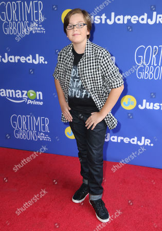 "Editorial picture of Just Jared Jr.'s Fall Fun Day Celebrating Season 2 of Amazon Prime's ""Gortimer Gibbon's Life on Normal Street"", Los Angeles, USA - 24 Oct 2015"