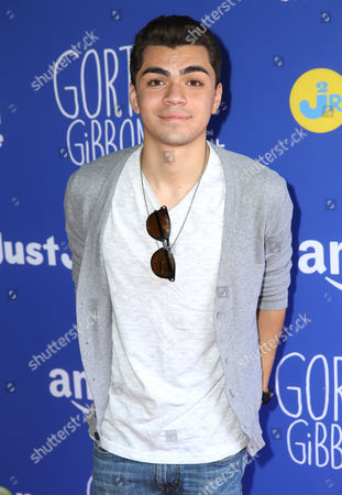 "Adam Irigoyen attends Just Jared Jr.'s Fall Fun Day celebrating Season 2 of Amazon Prime's ""Gortimer Gibbon's Life on Normal Street"", in Los Angeles"