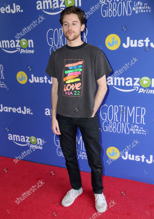 Travis Tope attends Just Jared Jr.'s Fall Fun Day celebrating Season 2 of Amazon Prime's 'Gortimer Gibbon's Life on Normal Street', in Los Angeles