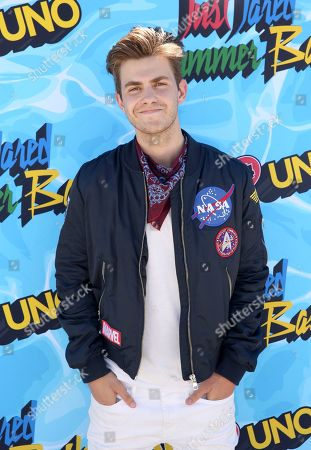 Stock Photo of Cameron Palatas arrives at the Just Jared 4th Annual Summer Bash presented by Uno, in Beverly Hills, Calif
