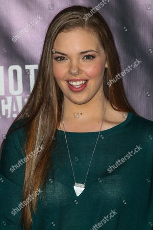 Miranda May attends the Knott's Scary Farm Black Carpet event on in Buena Park, Calif