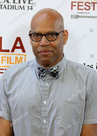 "Stock Photo of Kevin Jerome Everson at The LA Film Festival's gala screening of ""Fruitvale Station"" at the Regal Cinemas on in Los Angeles"