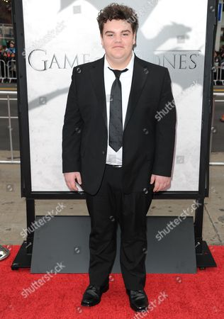 "Ben Hawkey arrives at the LA premiere for the third season of ""Game of Thrones"" at the TCl Chinese Theatre on in Los Angeles"