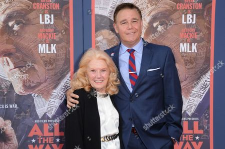 """Kathleen Nolan and Spencer Garrett attend the LA Premiere of """"All The Way"""" held at Paramount Pictures Studios, in Los Angeles"""