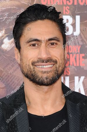 """Joe Naufahu attends the LA Premiere of """"All The Way"""" held at Paramount Pictures Studios, in Los Angeles"""