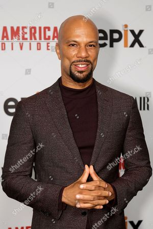 "Stock Image of Common arrives at the LA Premiere of ""America Divided"" at The Billy Wilder Theater, in Los Angeles"