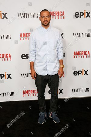 "Jesse Williams arrives at the LA Premiere of ""America Divided"" at The Billy Wilder Theater, in Westwood, Calif"