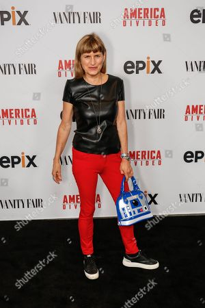 "Catherine Hardwicke arrives at the LA Premiere of ""America Divided"" at The Billy Wilder Theater, in Westwood, Calif"