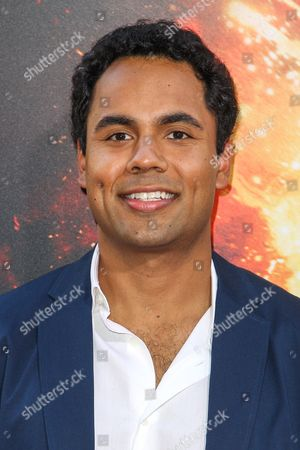 """Raj Brinder Singh attends the Los Angeles premiere of """"American Ultra"""" at the Ace Hotel on"""