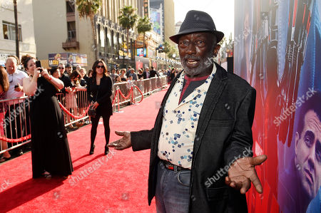 "Garrett Morris poses at the premiere of the film ""Ant-Man"" at The Dolby Theatre, in Los Angeles"