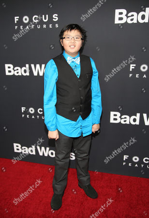"Editorial image of LA Premiere of ""Bad Words"" - Arrivals, Los Angeles, USA - 5 Mar 2014"