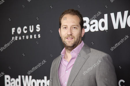"Mason Novick arrives at LA Premiere of ""Bad Words"" on in Los Angeles, Calif"