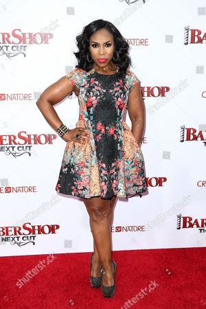 "Lauren Lake attends the LA Premiere of ""Barbershop: The Next Cut"" held at the TCL Chinese Theatre, in Los Angeles"