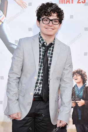 """Stock Picture of Braxton Beckham arrives at the LA Premiere of """"Blended"""" held at the TCL Chinese Theatre, in Los Angeles"""