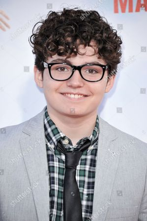 """Stock Image of Braxton Beckham arrives at the LA Premiere of """"Blended"""" held at the TCL Chinese Theatre, in Los Angeles"""