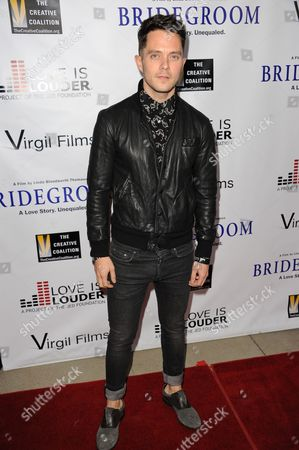 """Eli Lieb arrives at the Premiere of """"Bridegroom"""" at The Samuel Goldwyn Theatre on in Beverly Hills, Calif"""