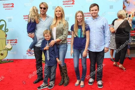 """Editorial photo of LA Premiere of """"Cloudy with a Chance of Meatballs 2"""" - Arrivals, Los Angeles, USA - 21 Sep 2013"""