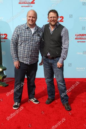 """Editorial image of LA Premiere of """"Cloudy with a Chance of Meatballs 2"""" - Arrivals, Los Angeles, USA - 21 Sep 2013"""