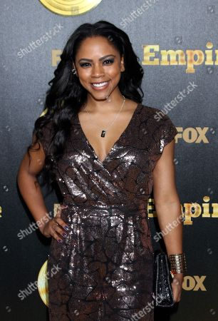 """Actor and recording artist Shanica Knowles seen at LA Premiere Of """"Empire"""" at Arclight Cinema Dome, in Hollywood, California"""