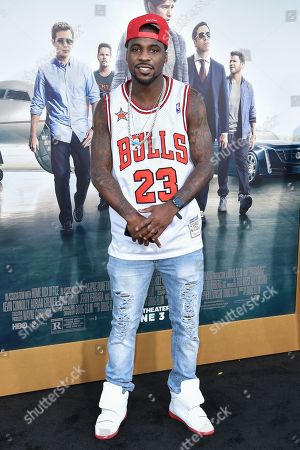 """Stock Image of Ty Lawson arrives at the LA Premiere Of """"Entourage"""" at the Regency Village Theatre, in Los Angeles"""