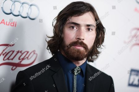 """Stock Picture of Actor Allan Dobrescu arrives at the LA Premiere of """"Fargo"""" Season two, at Arclight Cinemas Hollywood in Los Angeles"""