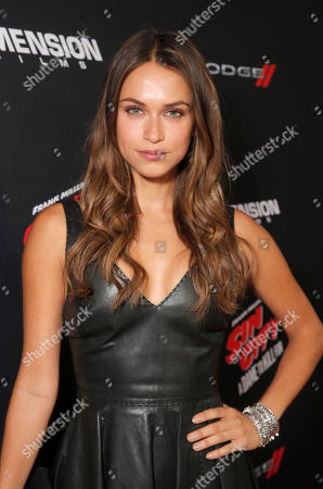 "Asha Leo attends the Los Angeles premiere of ""Sin City: A Dame To Kill For"" at the TCL Chinese Theatre on in Los Angeles"