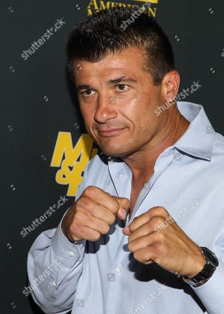 """Stock Picture of Danny Musico arrives at the premiere of """"Generation Iron"""" at the Chinese 6 Theatres on in Los Angeles"""