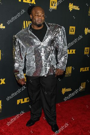 """Bodybuilder Kai Greene arrives at the premiere of """"Generation Iron"""" at the Chinese 6 Theatres on in Los Angeles"""