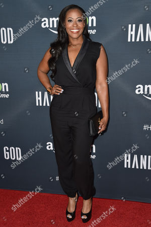 """Nichelle Hines arrives at the Premiere of """"Hand of God"""" held at the Ace Hotel, in Los Angeles"""