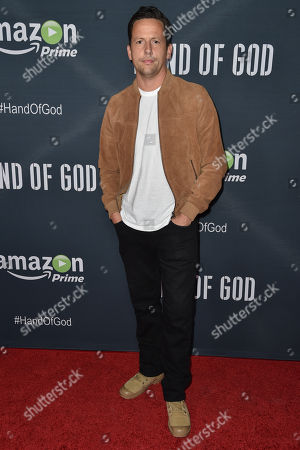 """Ross McCall arrives at the Premiere of """"Hand of God"""" held at the Ace Hotel, in Los Angeles"""