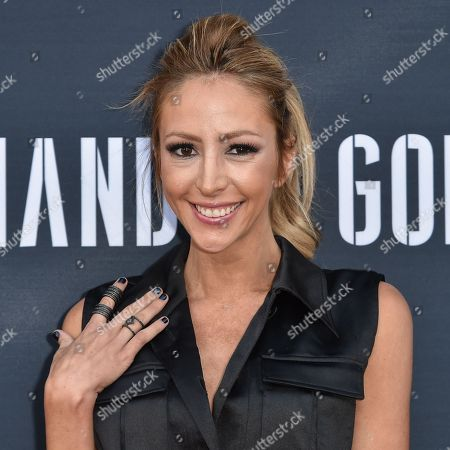 "Stock Photo of Julia Levy Boeken arrives at the Premiere of ""Hand of God"" held at the Ace Hotel, in Los Angeles"