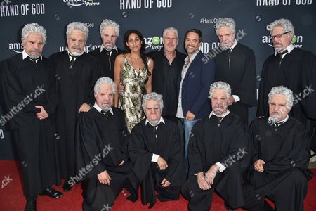 "Editorial picture of LA Premiere of ""Hand of God"" - Arrivals, Los Angeles, USA - 19 Aug 2015"
