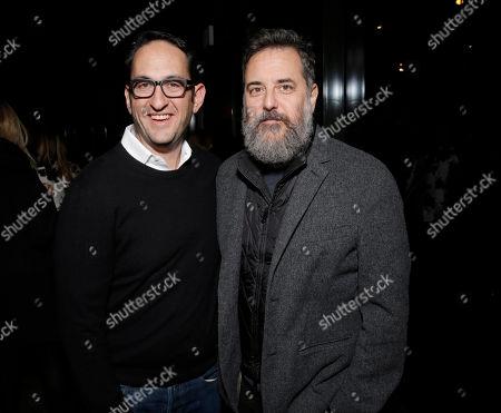 "Greg Silverman, President, Creative Development and Mark Romanek attend the LA Premiere of ""Her"", on Thursday,December, 12, 2013 in Los Angeles"