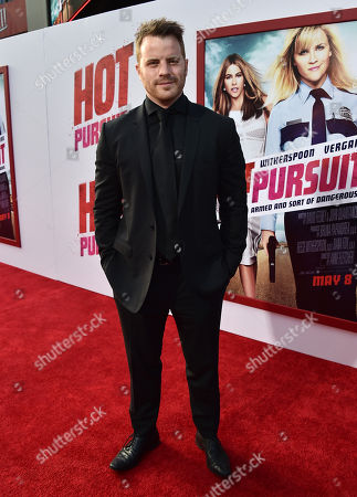Robert Kazinsky arrives at the premiere of 'Hot Pursuit' at the TCL Chinese Theatre, in Los Angeles